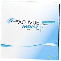 1-DAY ACUVUE MOIST for ASTIGMATISM 90pk contacts