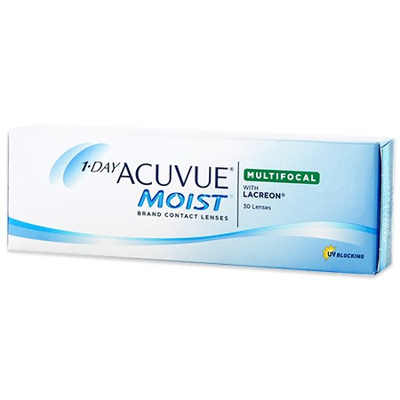 Acuvue 1-DAY ACUVUE MOIST Multifocal 30 Pack contacts