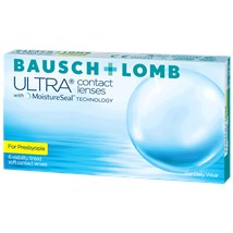 Bausch + Lomb ULTRA for Presbyopia contacts