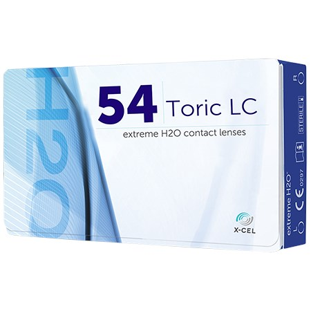Extreme H2O 54 Toric 6 Pack contacts