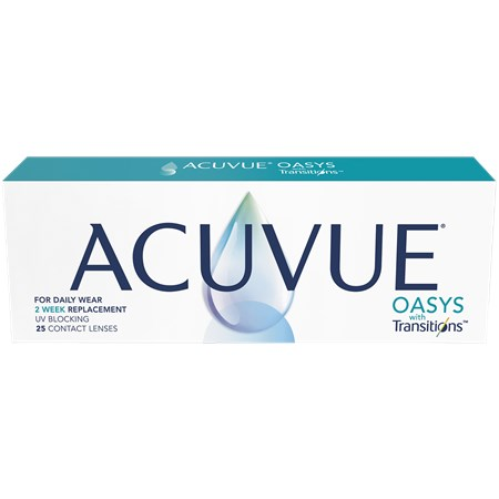 ACUVUE OASYS with Transitions 25pk contacts