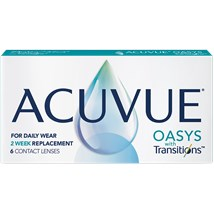 ACUVUE OASYS with Transitions contacts
