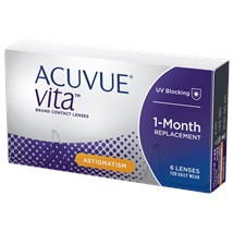 ACUVUE VITA for Astigmatism contacts