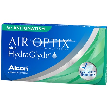 AIR OPTIX plus HydraGlyde for Astigmatism contacts