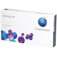 Biofinity XR contacts