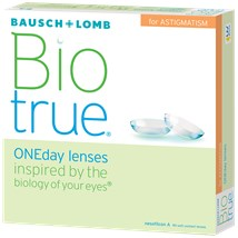 Biotrue ONEday for Astigmatism (90 pack) contacts