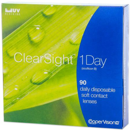 Clearsight 1 day 90 pack contacts