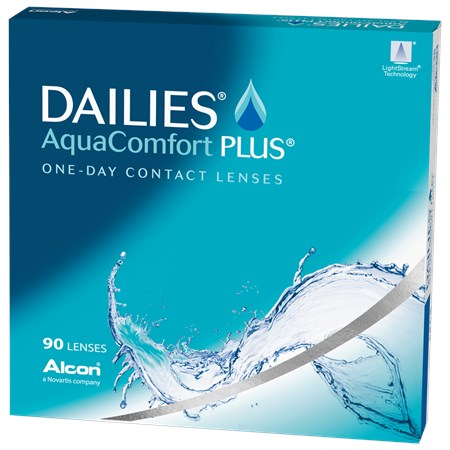 DAILIES AquaComfort Plus 90pk contacts