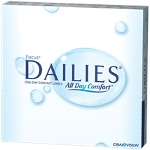 FOCUS DAILIES 90pk contacts