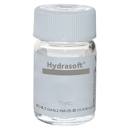 Hydrasoft toric (vial) contacts