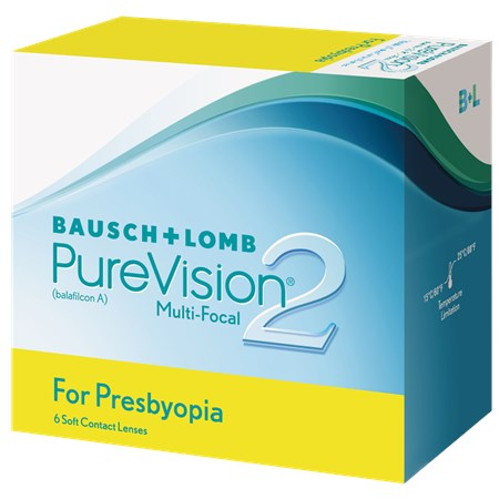PureVision2 Multi-Focal For Presbyopia contacts
