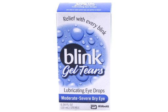 AMO Blink Gel Tears Eye Drops (.34 fl. oz.) DryRedEyeTreatments