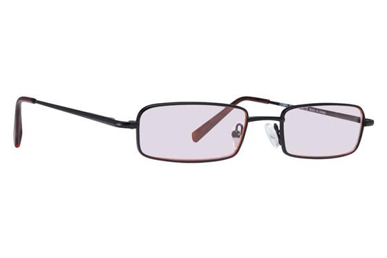 CalOptix Medium Rectangle Black Computer Glasses ComputerVisionAides - Black