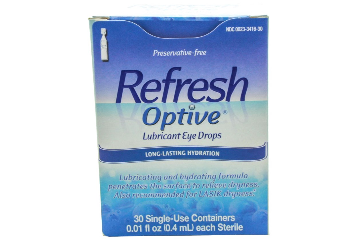 Refresh Optive Advanced Preservative-Free Eye Drops (30 ct.) DryRedEyeTreatments