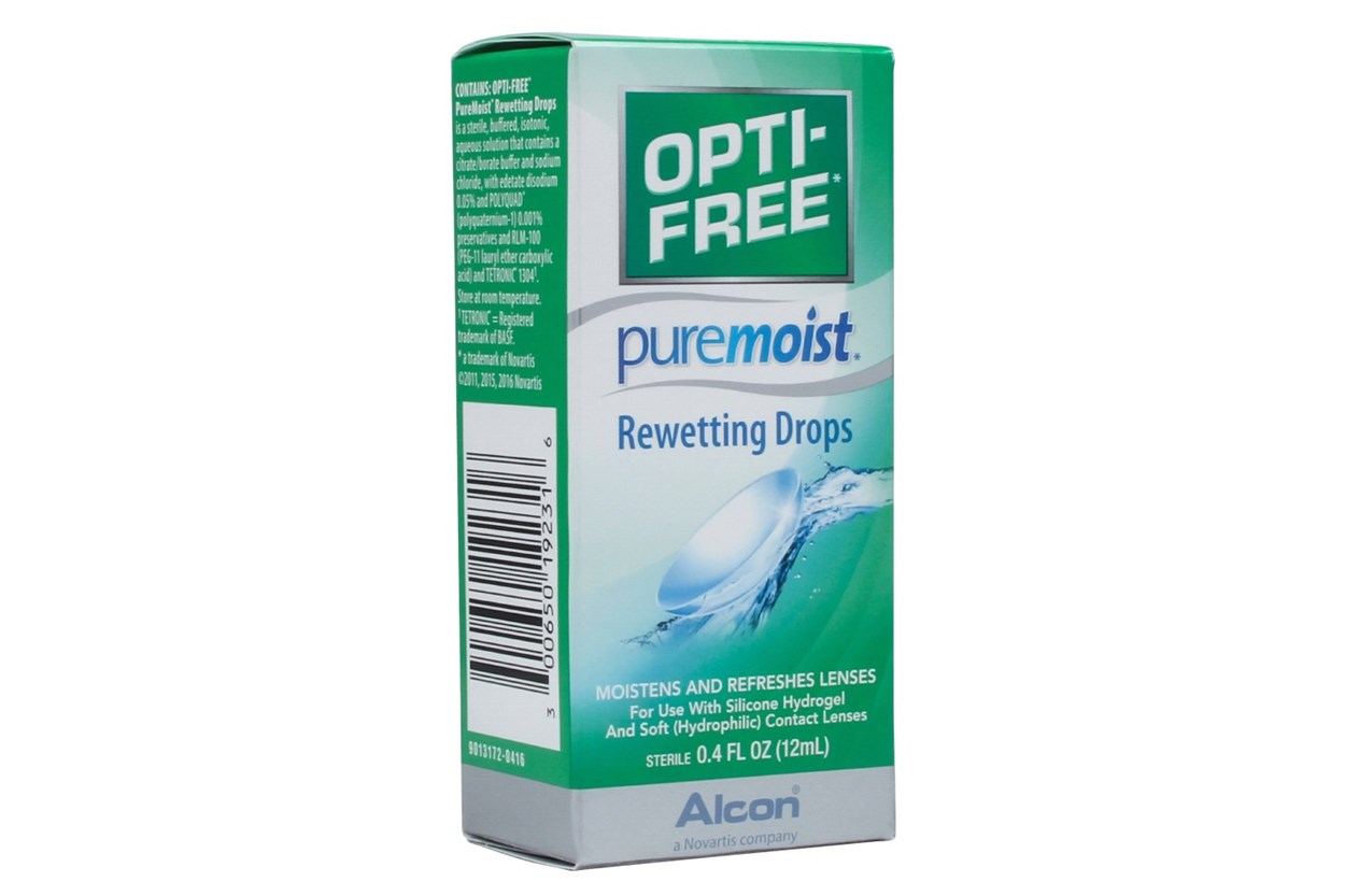 Opti-Free PureMoist Rewetting Drops (0.4 fl. oz.) SolutionsCleaners