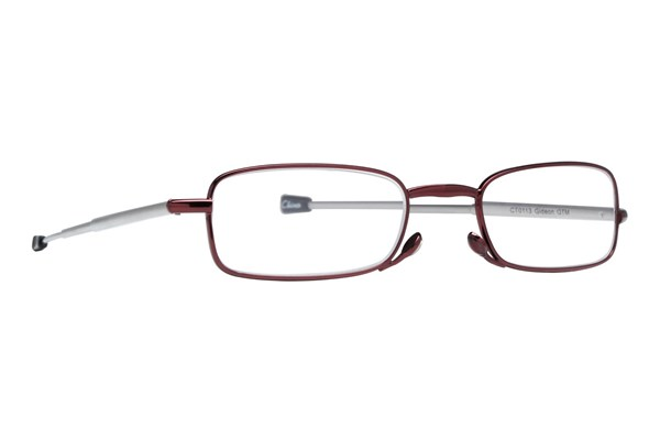 Magnivision Gideon Microvision Reading Glasses ReadingGlasses - Red