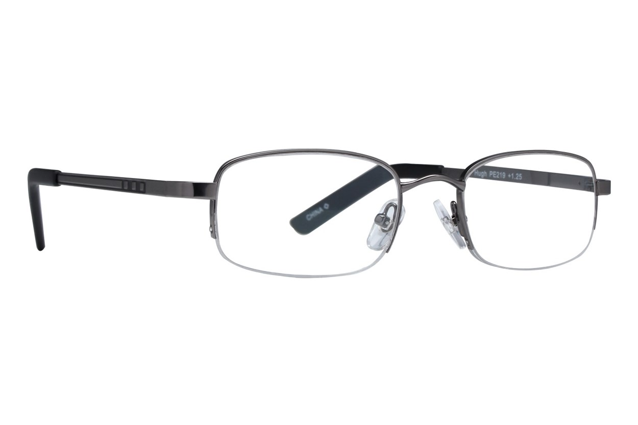 Private Eyes Hugh Reading Glasses  - Gray