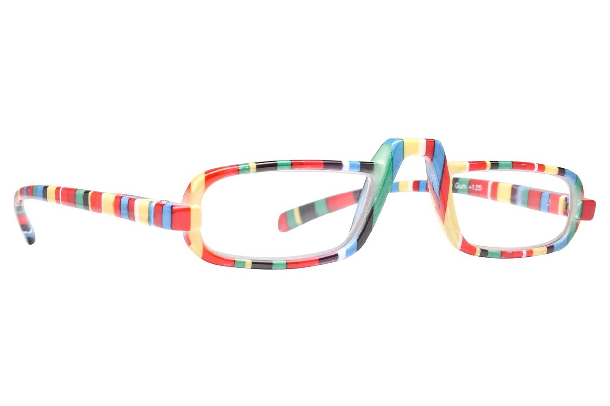 Peepers Fruit Stripe Gum Reading Glasses  - Multi