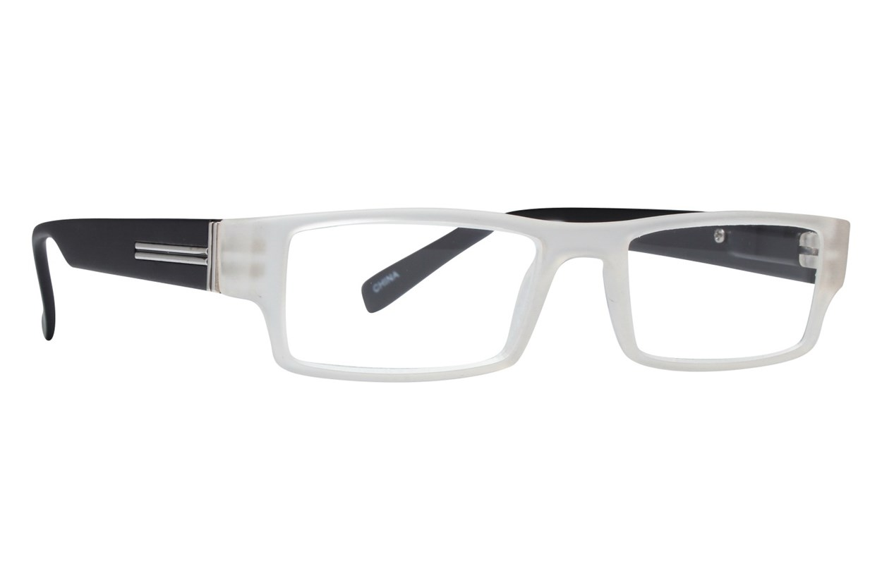 Evolutioneyes CRPH835 Full Rim Classic Readers  - Clear