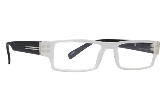 Evolutioneyes CRPH835 Full Rim Classic Readers ReadingGlasses - Clear