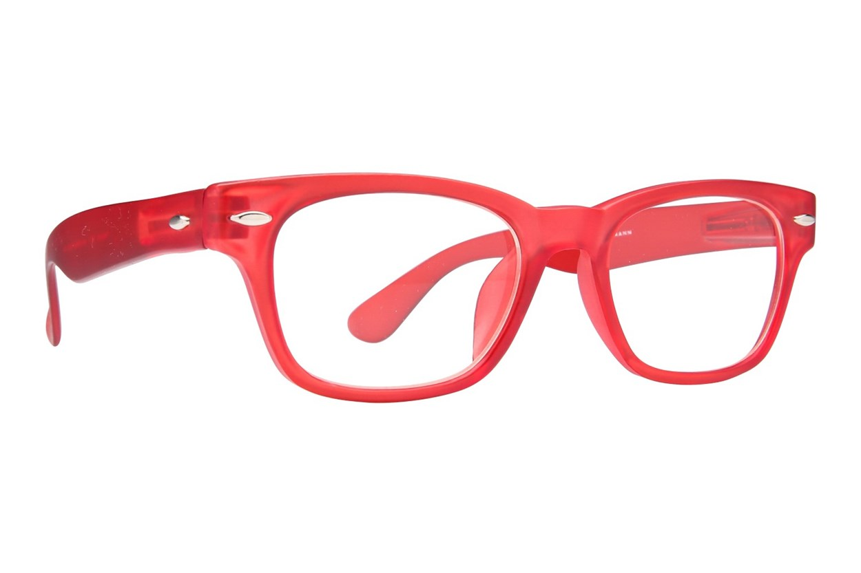 Peepers Rainbow Bright Reading Glasses  - Red