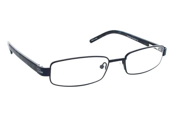 Dea Extended Size Gioia Reading Glasses ReadingGlasses - Black