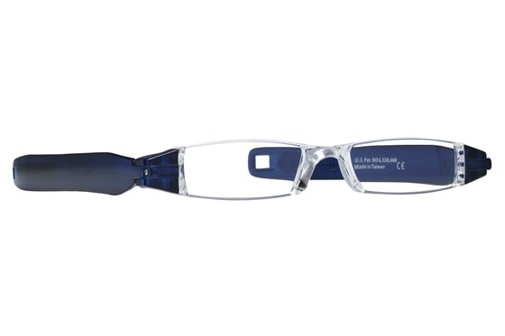 Pocket Blade Readers ReadingGlasses - Blue