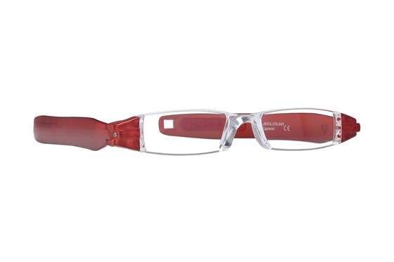 Pocket Blade Readers ReadingGlasses - Red
