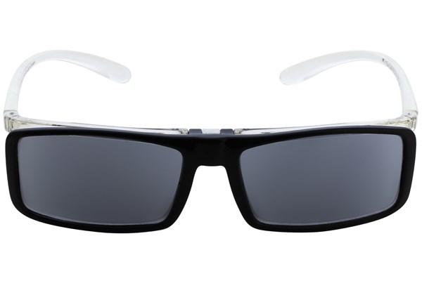 I Heart Eyewear Flip-Up Reading Sunglasses ReadingGlasses - Black