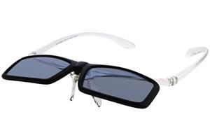 Click to swap image to alternate 3 - I Heart Eyewear Flip-Up Reading Sunglasses ReadingGlasses - Black