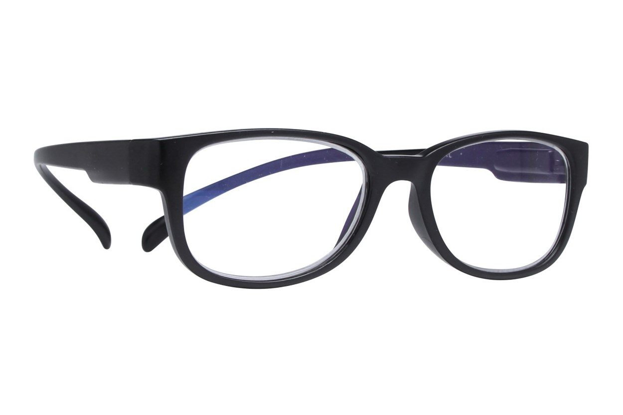 I Heart Eyewear Neck Hanging Readers ReadingGlasses - Black