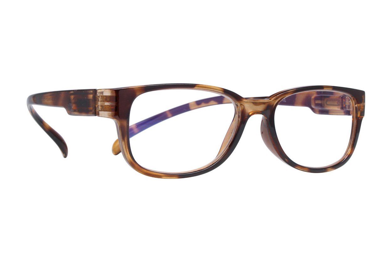 I Heart Eyewear Neck Hanging Readers ReadingGlasses - Tortoise