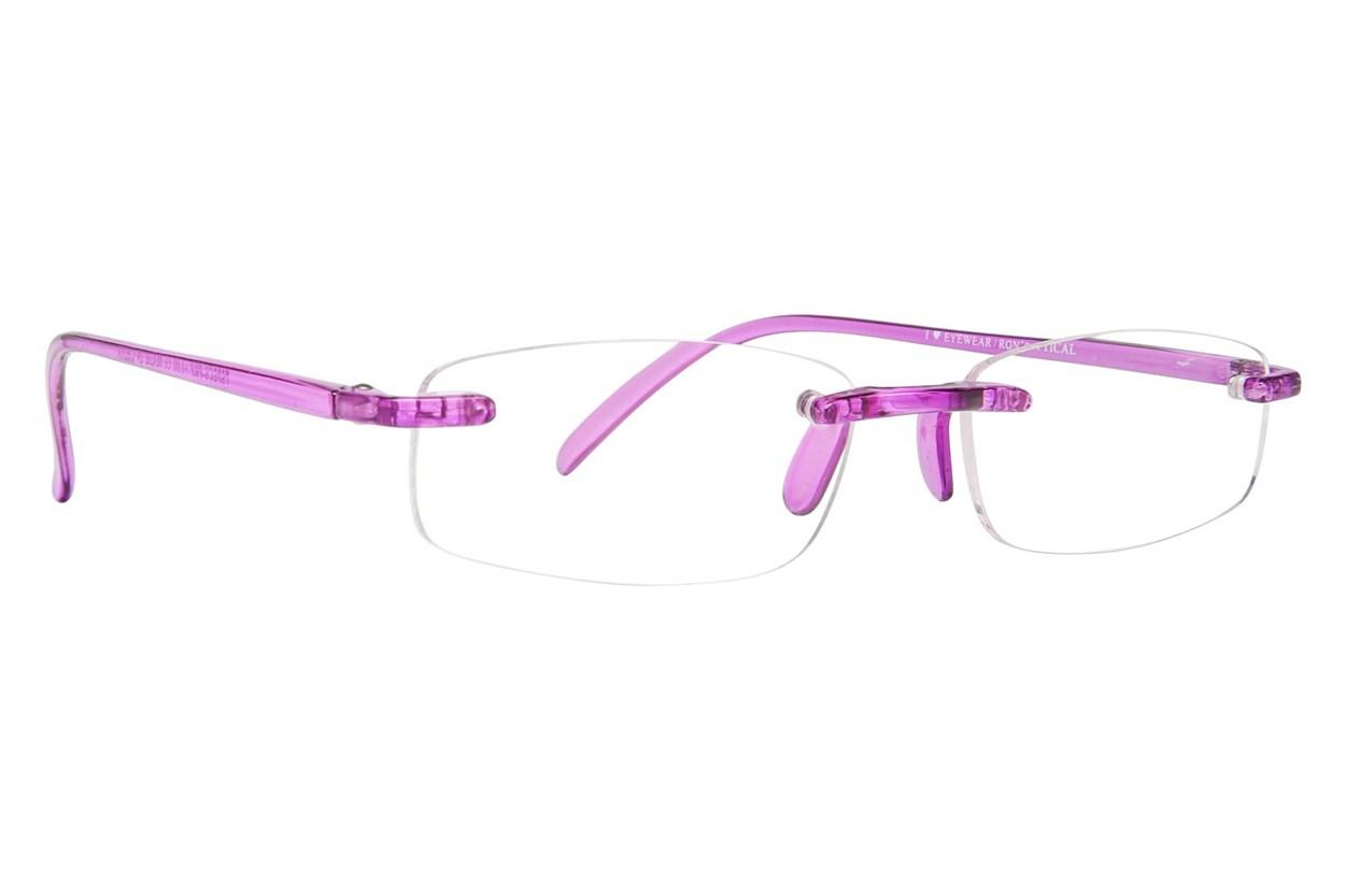 I Heart Eyewear Twisted Specs  - Purple