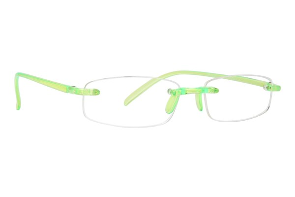 I Heart Eyewear Twisted Specs ReadingGlasses - Green