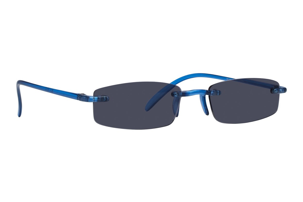 I Heart Eyewear Twisted Sun Specs ReadingGlasses - Blue