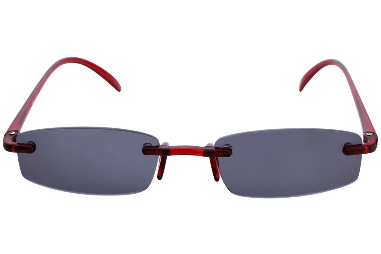 I Heart Eyewear Twisted Sun Specs  - Red
