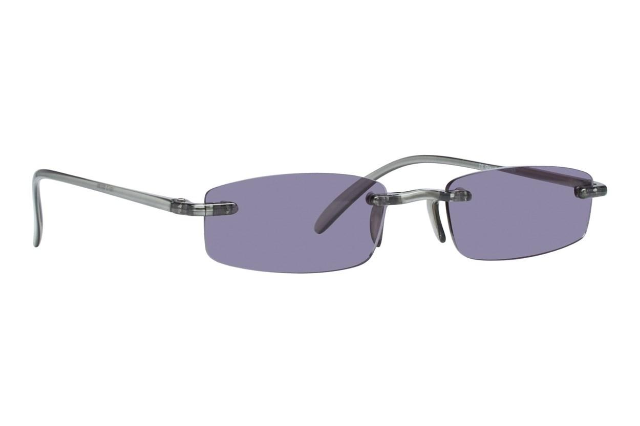 I Heart Eyewear Twisted Sun Specs ReadingGlasses - Gray