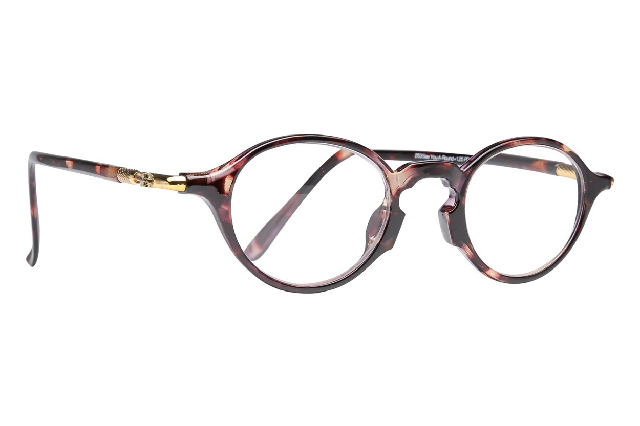 Peepers See You A-Round Reading Glasses  - Tortoise