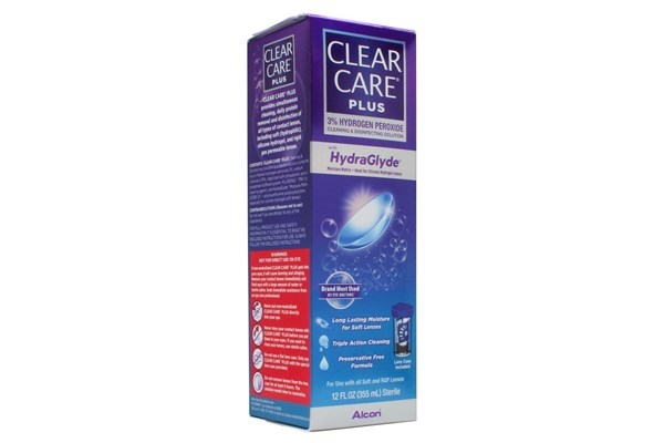 Clear Care Plus with HydraGlyde (12 fl. oz.) SolutionsCleaners
