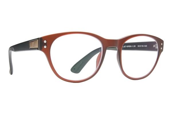 Jet Readers ATL Reading Glasses ReadingGlasses - Brown