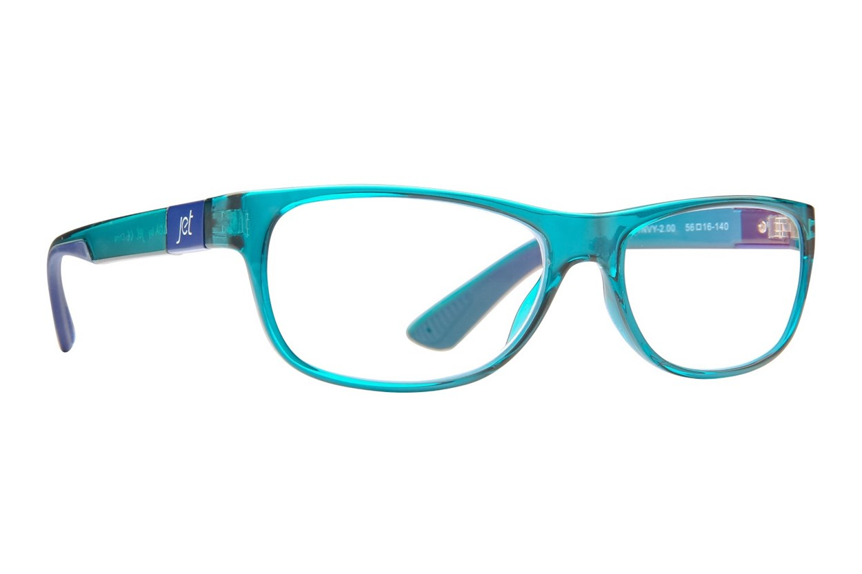 Jet Readers LGA Reading Glasses  - Blue