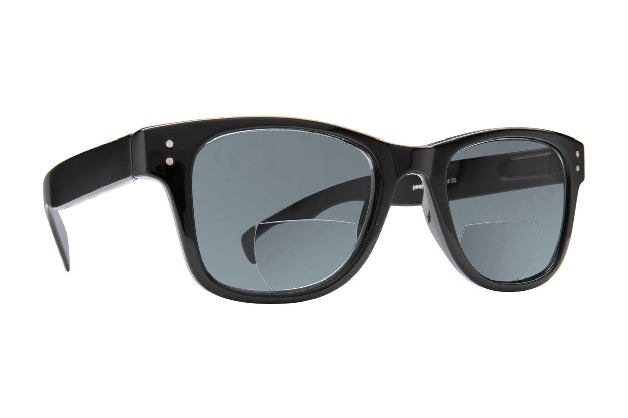 Peepers Cabana Bifocal Reading Sunglasses ReadingGlasses - Black