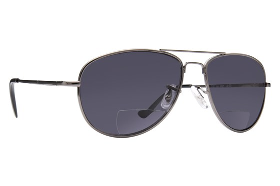 Peepers Ice Man Reading Sunglasses ReadingGlasses - Gray