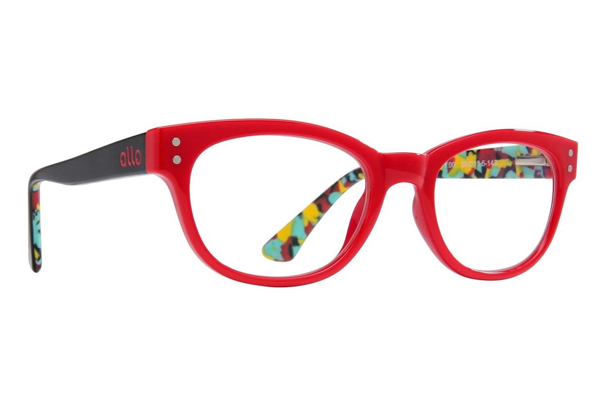 allo Hello Reading Glasses  - Red