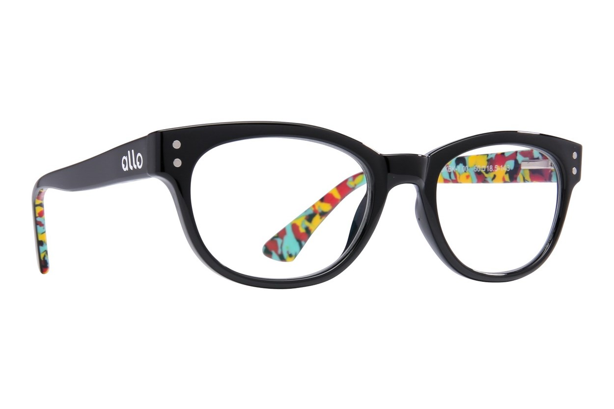 allo Hello Reading Glasses ReadingGlasses - Black