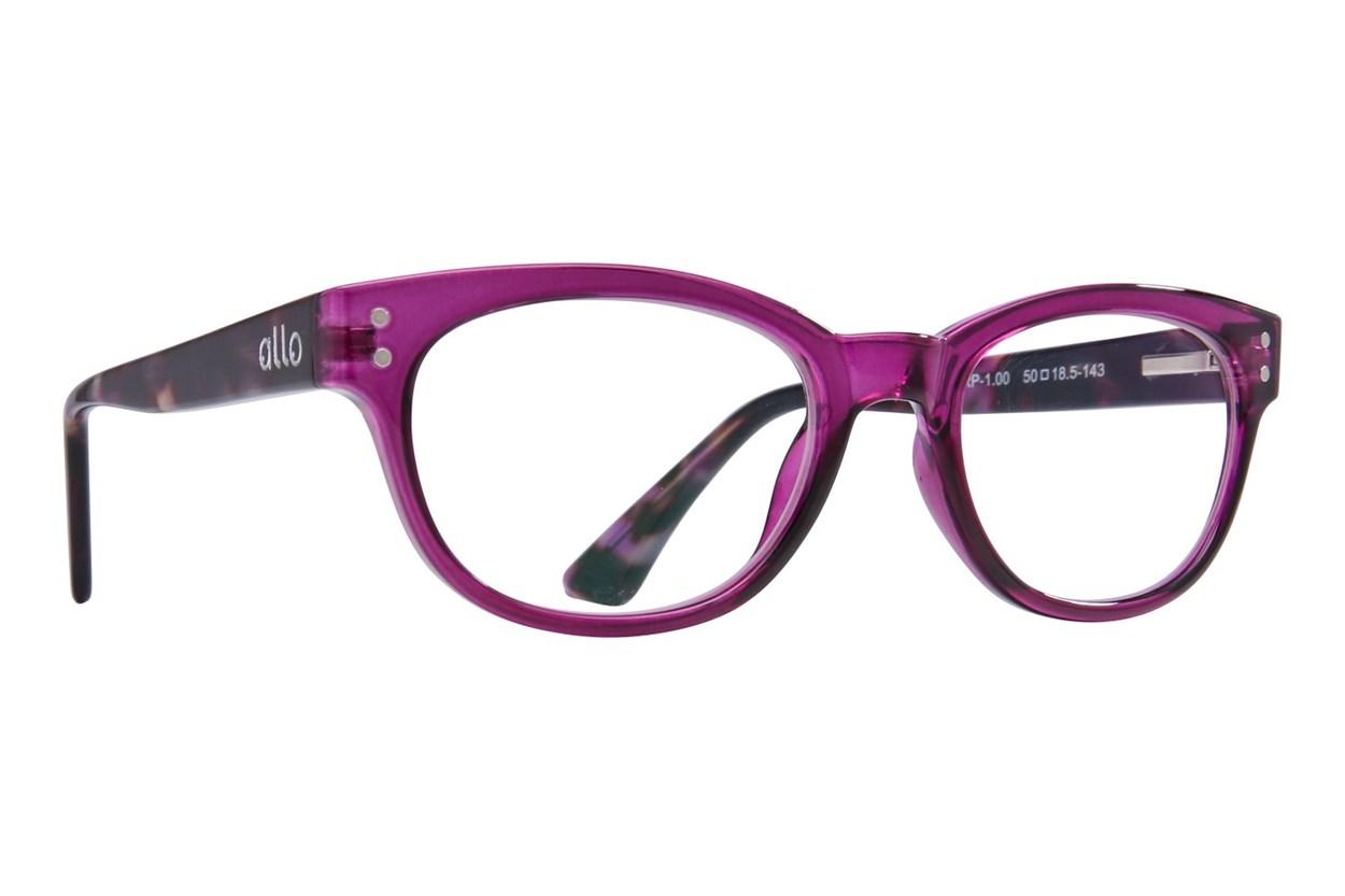allo Hello Reading Glasses  - Purple