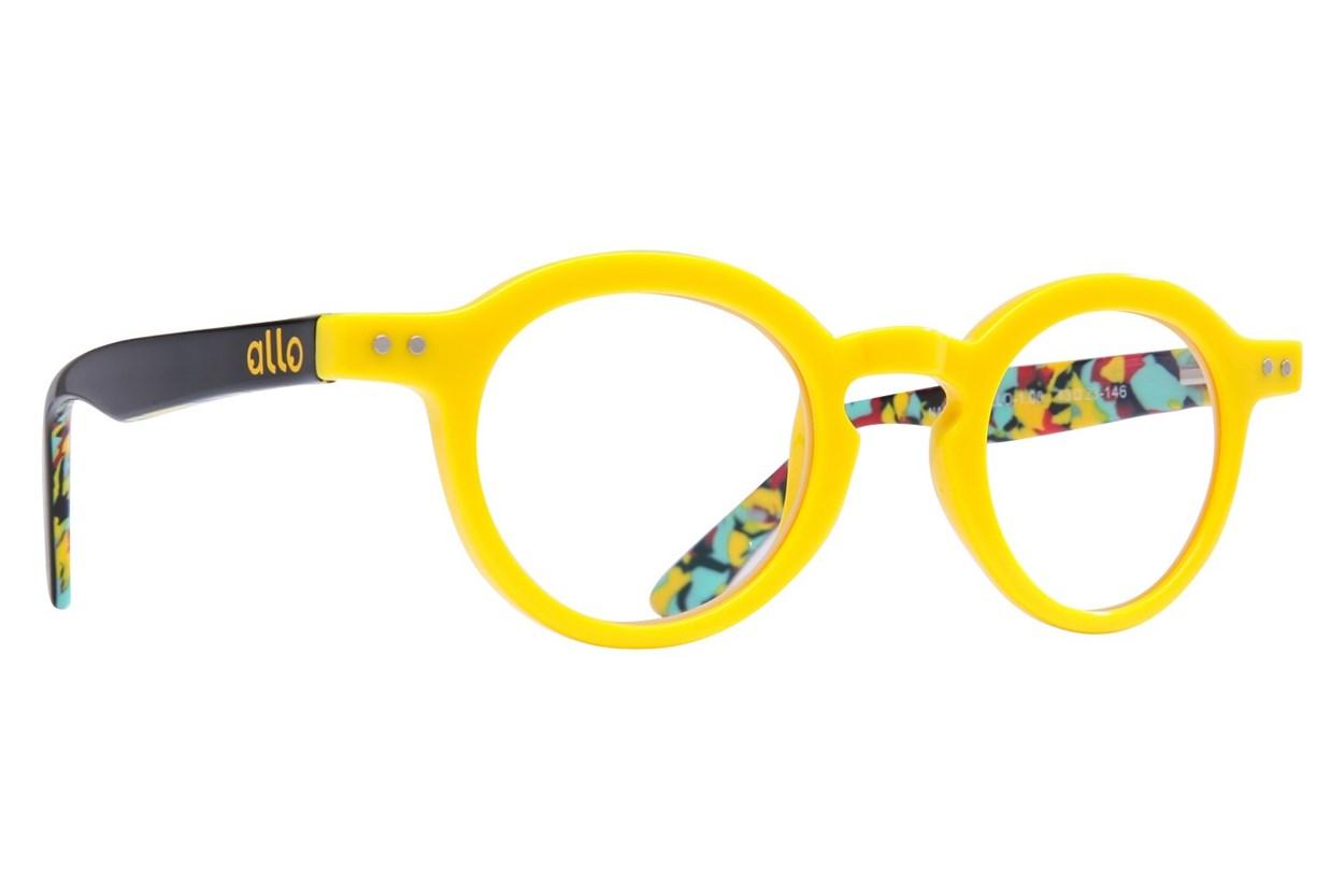 allo Namaste Reading Glasses  - Yellow