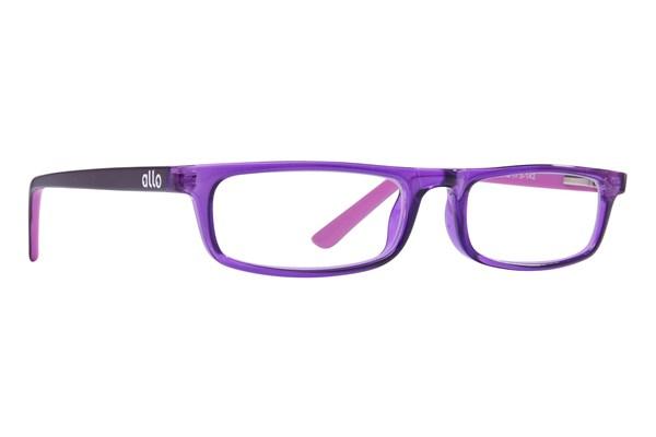 allo G'Day Reading Glasses ReadingGlasses - Purple