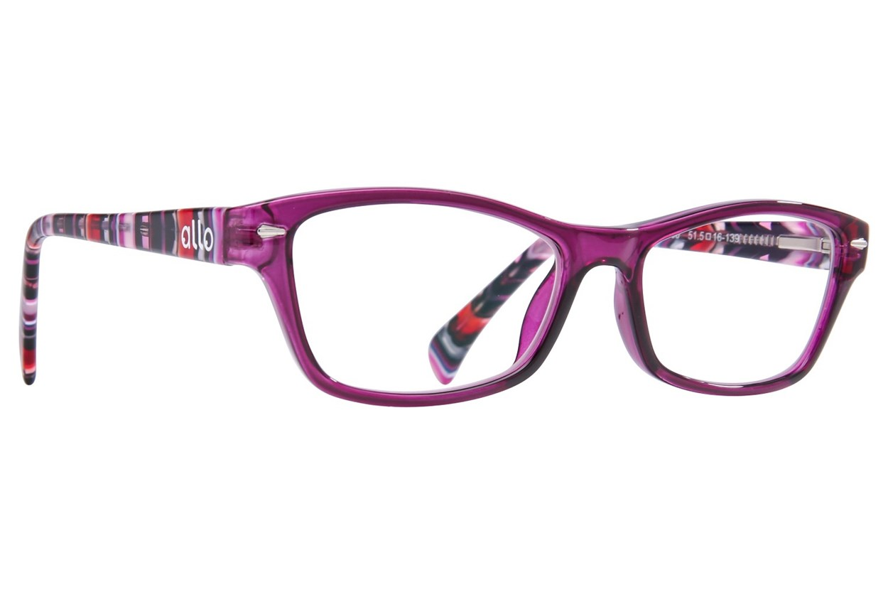 allo Hola Reading Glasses  - Purple