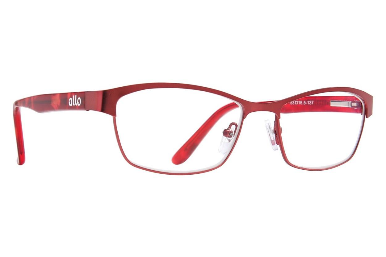allo Bonjour Reading Glasses ReadingGlasses - Red